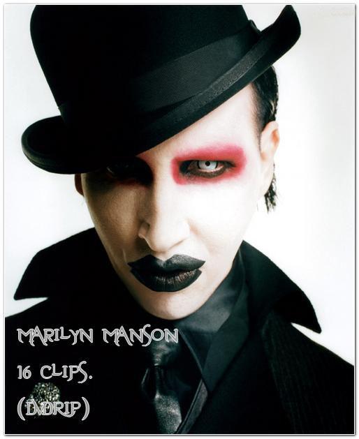 Marilyn Manson - 16 видеоклипов (DVDRip)